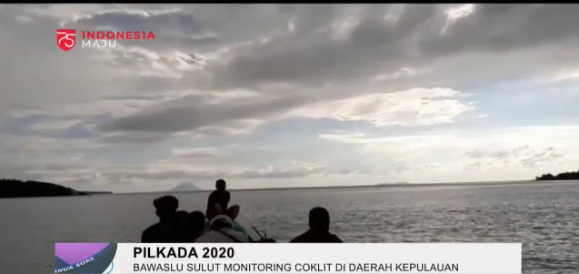 Bawaslu Sulut Monitoring Coklit di Daerah Kepulauan