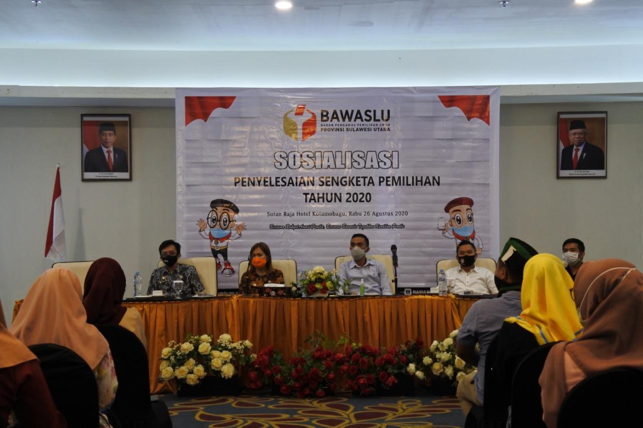 Kordiv Penyelesaian Sengketa Bawaslu Sulut Gelar Sosialisasi di Kotamobagu