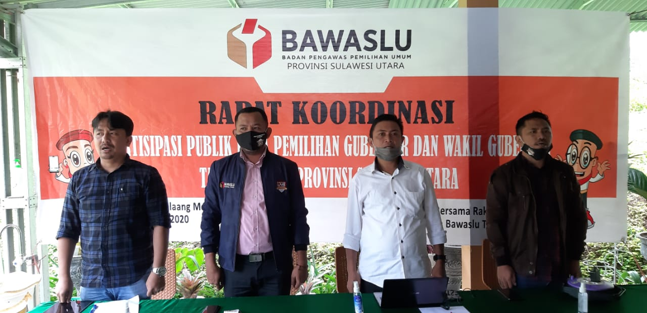 Rapat Koordinasi : Partisipasi Publik Pada Pemilihan Gubernur dan Wakil Gubernur Tahun 2020 di Provinsi Sulawesi Utara