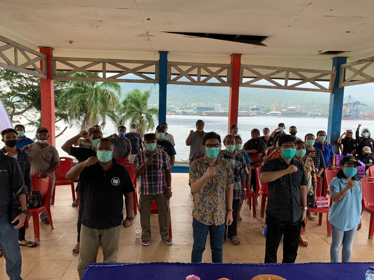 Masyarakat Pulau Lembeh Tegas Nyatakan Tolak Politik Uang